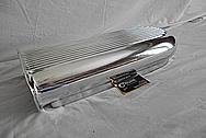 B&M Aluminum Blower Intake Manifold Hat / Top Piece AFTER Chrome-Like Metal Polishing - Aluminum Polishing