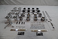 Aluminum Intake Manifold Kit AFTER Chrome-Like Metal Polishing - Aluminum Polishing