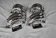 Aluminum Tuned Port Intake Manifold Runners AFTER Chrome-Like Metal Polishing and Buffing Services - Aluminum Polishing
