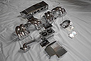 Aluminum Tuned Port Intake Manifold Setup AFTER Chrome-Like Metal Polishing and Buffing Services - Aluminum Polishing