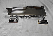 Aluminum Tuned Port Intake Manifold Plenum AFTER Chrome-Like Metal Polishing and Buffing Services - Aluminum Polishing