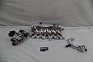 Toyota Supra Aluminum Intake Manifold AFTER Chrome-Like Metal Polishing and Buffing Services - Aluminum Polishing