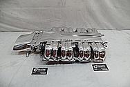 Chevrolet ZR-1 Corvette LT5 Aluminum Intake Manifold AFTER Chrome-Like Metal Polishing and Buffing Services - Aluminum Polishing
