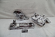 1988 Volkswagen Rabbit 1.8L 4 Cylinder Engine Aluminum Intake Manifold AFTER Chrome-Like Metal Polishing - Aluminum Polishing
