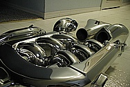 Aluminum Intake Manifold AFTER Chrome-Like Metal Polishing and Buffing Services