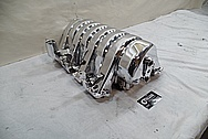 Dodge Hemi 6.4L V8 Engine Intake Manifold for 1973 Duster AFTER Chrome-Like Metal Polishing - Aluminum Polishing Services
