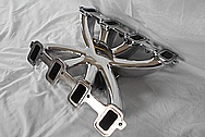 V8 Engine Aluminum Intake Manifold AFTER Chrome-Like Metal Polishing and Buffing Services - Aluminum Polishing Services