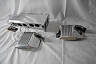 1989 Chevrolet Camaro IROC Z28 Convertible TPI Plenum Setup AFTER Chrome-Like Metal Polishing and Buffing Services - Aluminum Polishing Services