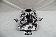Dart Aluminum Intake Manifold AFTER Chrome-Like Metal Polishing and Buffing Services - Aluminum Polishing Services