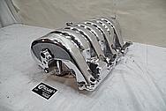 Dodge Hemi Aluminum Intake Manifold AFTER Chrome-Like Metal Polishing and Buffing Services - Aluminum Polishing Services