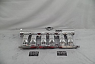 Edelbrock CrossRam Aluminum Intake Manifold AFTER Chrome-Like Metal Polishing and Buffing Services - Aluminum Polishing Services
