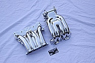 Mazda RX-7 Rotary Aluminum Intake Manifold AFTER Chrome-Like Metal Polishing and Buffing Services