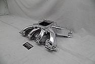 Aluminum Intake Manifold AFTER Chrome-Like Metal Polishing and Buffing Services - Aluminum Polishing Services