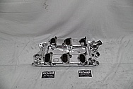 Offenhauser Aluminum Intake Manifold AFTER Chrome-Like Metal Polishing and Buffing Services - Aluminum Polishing Services
