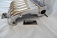 Mitsubishi 3000GT Aluminum Engine Intake Manifold AFTER Chrome-Like Metal Polishing and Buffing Services - Aluminum Polishing Services