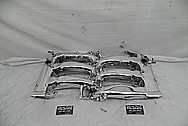 Nissan 300ZX Aluminum Intake Manifold AFTER Chrome-Like Metal Polishing and Buffing Services - Aluminum Polishing Services