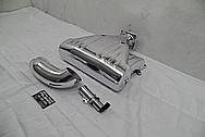 Ford Mustang Edelbrock Performer RPM II Aluminum Intake Manifold AFTER Chrome-Like Metal Polishing and Buffing Services - Aluminum Polishing Services