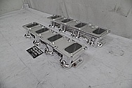 Aluminum V8 Engine Intake Manifold Kit AFTER Chrome-Like Metal Polishing and Buffing Services / Restoration Services - Aluminum Polishing