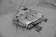 Nissan 350Z Aluminum Intake Manifold AFTER Chrome-Like Metal Polishing and Buffing Services - Aluminum Polishing