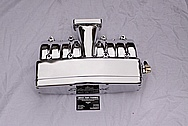 Ford Mustang Cobra Edelbrock 5.0L Aluminum Intake Manifold AFTER Chrome-Like Metal Polishing and Buffing Services