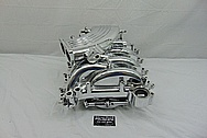 2001 Ford Mustang GT Bullitt Aluminum Intake Manifold AFTER Chrome-Like Metal Polishing and Buffing Services - Aluminum Polishing