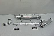 Nissan RB 26 Skyline Engine Aluminum Intake Manifold AFTER Chrome-Like Metal Polishing and Buffing Services - Aluminum Polishing Services