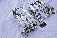 Mazda RX-7 Aluminum Intake Manifold AFTER Chrome-Like Metal Polishing and Buffing Services