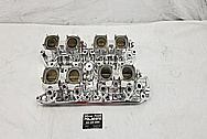 SBF (Small Block Ford) Aluminum Intake Manifold and Carburetors AFTER Chrome-Like Metal Polishing and Buffing Services / Restoration Services - Aluminum Polishing