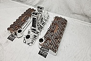 Eddie Meyer Aluminum Flathead Intake Manifold AFTER Chrome-Like Metal Polishing - Aluminum Polishing