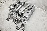 TPI Aluminum Intake Manifold System AFTER Chrome-Like Metal Polishing - Aluminum Polishing