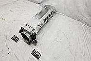 TPI Aluminum Intake Manifold Plenum AFTER Chrome-Like Metal Polishing - Aluminum Polishing