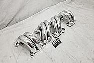 TPI Aluminum Intake Manifold Runners AFTER Chrome-Like Metal Polishing - Aluminum Polishing