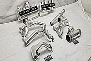 1986 Porsche 928 Aluminum Intake Manifold System AFTER Chrome-Like Metal Polishing and Buffing Services / Restoration Services - Aluminum Polishing