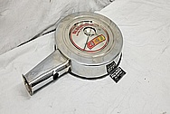 Oldsmobile 442 Steel Breather AFTER Chrome-Like Metal Polishing - Stainless Steel Polishing - Trim Polishing