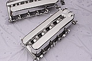 3 Dodge Viper GTS / RT10 8.3L Aluminum Intake Manifolds AFTER Chrome-Like Metal Polishing and Buffing Services