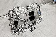 GM Aluminum Intake Manifold AFTER Chrome-Like Metal Polishing - Stainless Steel Polishing - Aluminum Polishing