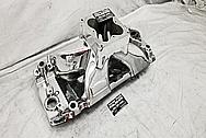 Brodix Aluminum Intake Manifold AFTER Chrome-Like Metal Polishing - Stainless Steel Polishing - Aluminum Polishing