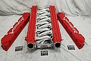 Dodge Viper Aluminum Intake Manifold AFTER Chrome-Like Metal Polishing - Aluminum Polishing
