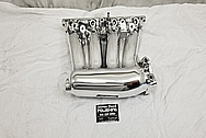 Honda RBC Aluminum Intake Manifold AFTER Chrome-Like Metal Polishing - Aluminum Polishing