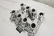 Inglese Aluminum Intake Manifold AFTER Chrome-Like Metal Polishing - Aluminum Polishing