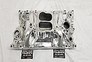 Aluminum Intake Manifold AFTER Chrome-Like Metal Polishing - Aluminum Polishing