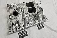 Aluminum Intake Manifold AFTER Chrome-Like Metal Polishing - Aluminum Polishing