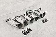 1993 - 1998 Toyota Supra Aluminum Upepr and Lower Intake Manifold AFTER Chrome-Like Metal Polishing and Buffing Services - Aluminum Polishing
