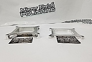 Aluminum Intake Manifold Spacers AFTER Chrome-Like Metal Polishing and Buffing Services - Aluminum Polishing