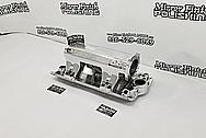 Edelbrock Aluminum Intake Manifold AFTER Chrome-Like Metal Polishing and Buffing Services - Aluminum Polishing
