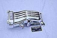 Ford Mustang Cobra Aluminum Intake Manifold AFTER Chrome-Like Metal Polishing and Buffing Services
