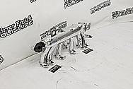 Aluminum 6 Cylinder Intake Manifold AFTER Chrome-Like Metal Polishing and Buffing Services - Aluminum Polishing