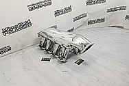 Holley EFI Aluminum Intake Manifold AFTER Chrome-Like Metal Polishing and Buffing Services