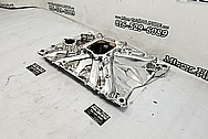 Torker 455 Aluminum 8 Cylinder Intake Manifold AFTER Chrome-Like Metal Polishing and Buffing Services - Aluminum Polishing