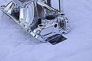 REHER Morrison Racing Big Block Chevy Aluminum Intake Manifold AFTER Chrome-Like Metal Polishing and Buffing Services